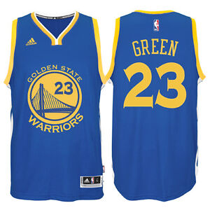 brand new c05bc 475bf Details about NBA Draymond Green #23 Golden State Warriors adidas Swingman  Men's Jersey - Blue