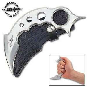 Gil Hibben Claw II Karambit Dagger Knife Full Tang Clip Sheath Dual Edge GH2028