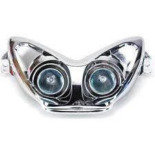 Maschera Faro One Tuning Cromata con Lampade Dicroiche chiare Yamaha Aerox