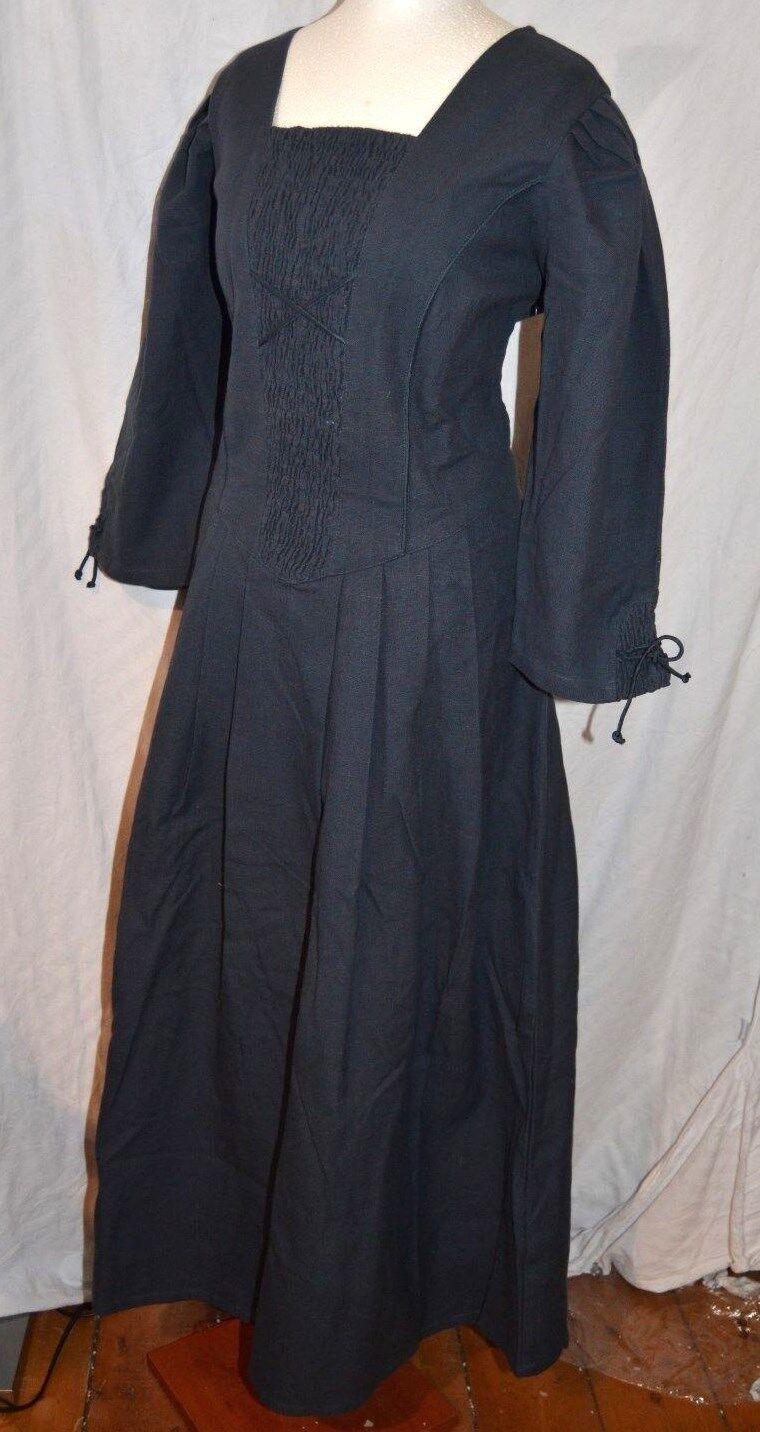 JOYLINE Country Classic Kleid Dirndl Mittelalter Gr. 38 38 38 Leinenoptik 139,- Larp a3691d