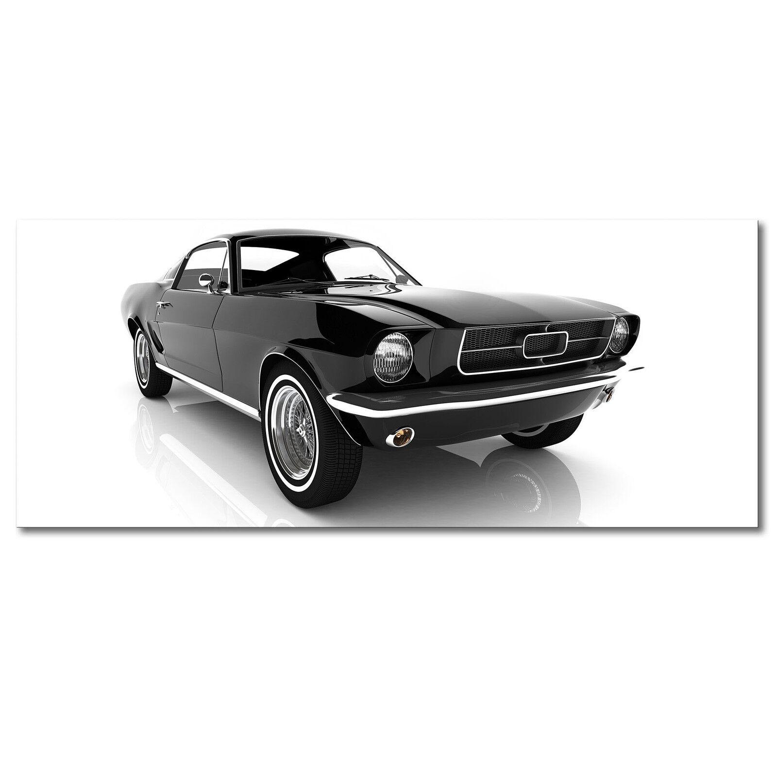 Qualitätsdruck auf Leinwand - Das Leinwandbild  Mustang