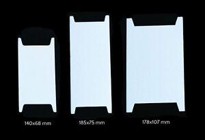 20-100-stabile-Wickelkarten-aus-Pappe-verschiedene-Groessen-Bandhalter-Kordelhalte