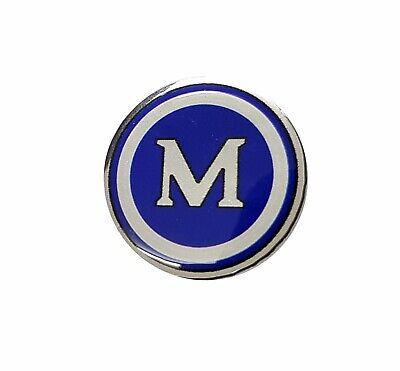 Steering Wheel or Gearknob Red Morris M 28mm Badge Minor Van Pickup Mini