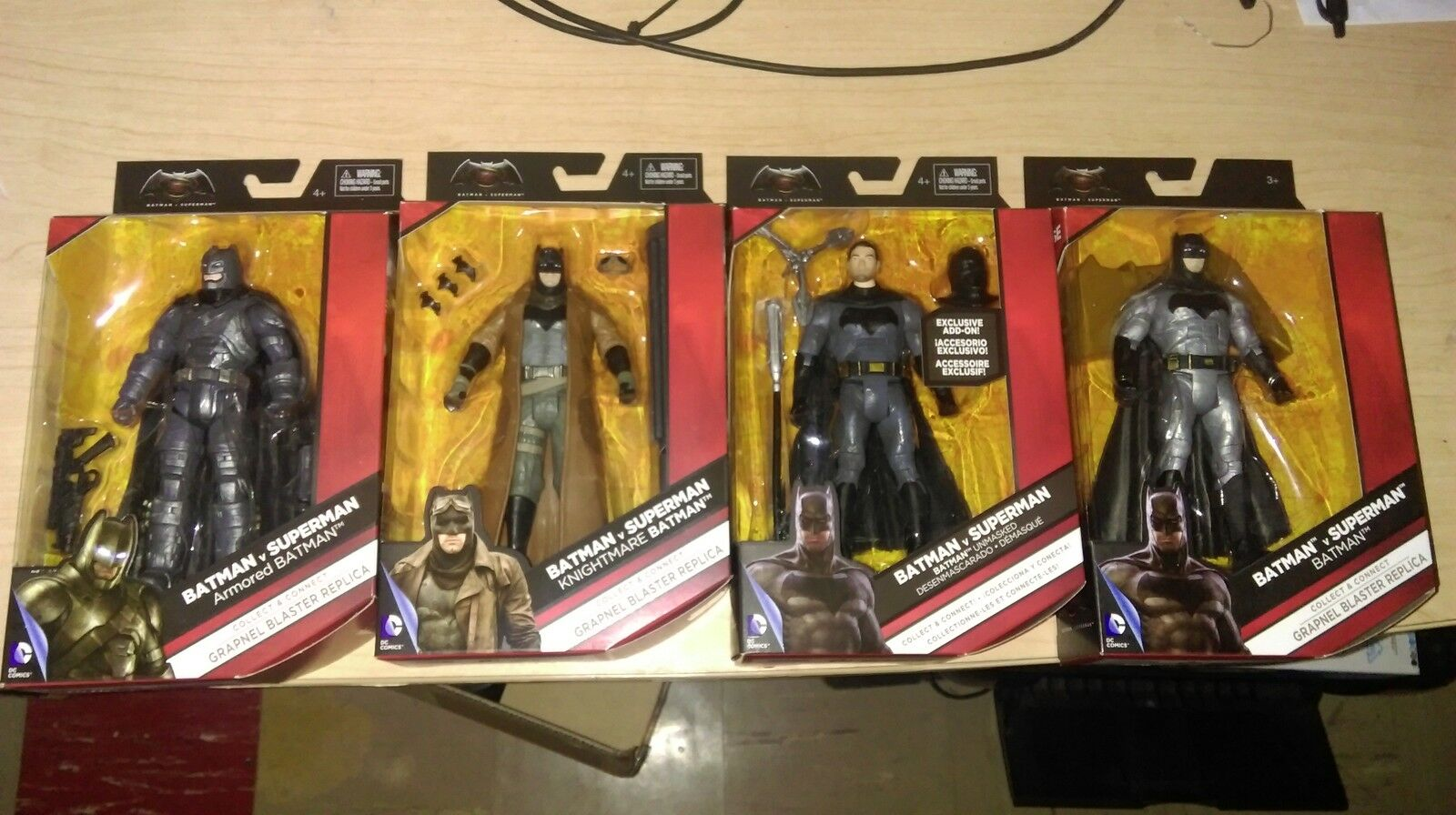 Dc Multiverse ArmGoldt Nightmare Unmasked Batman
