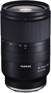 Tamron AF 28-75mm F/2.8 Di III RXD  für Sony E Anschluss   (Vollformat)
