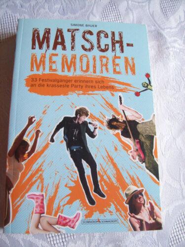 1 von 1 - Matsch-Memoiren von Simone Bauer (2013, Taschenbuch)