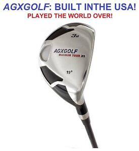AGXGOLF-LADIES-PETITE-1-034-RIGHT-HAND-3-HYBRID-IRON-wLADY-FLEX-STEEL-SHAFT-19