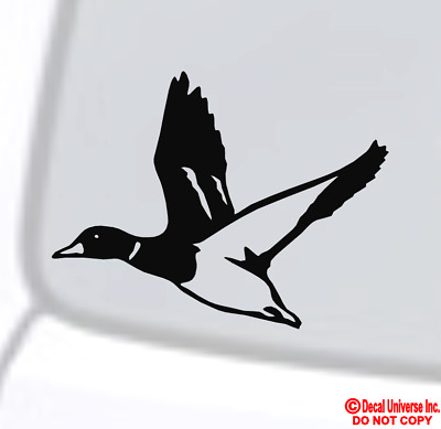 DUCK Vinyl Decal Sticker Car Window Wall Bumper Bird Hunting Animal Love Funny