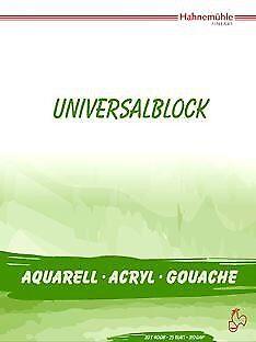 Hahnemühle Aktion Universalblock 310 g//m² 25 Blatt 30 x 40 cm