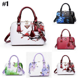 Image is loading Womens-Hobo-Tassel-Purse-Shoulder-Bag-Handbag-Flower- 6a854b9a305b7