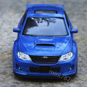 Subaru-Auto-1-36-Car-Model-Toy-Car-Alloy-Diecast-Kids-Gift-Pull-Back-Blue