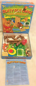 Nutty-Nut-Chase-Squirrelly-Board-Game-2007-Tactic-Complete-Very-Rare