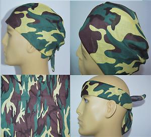 Army Versatile Camouflage Style Bandana 100/% Cotton Headband UK Seller