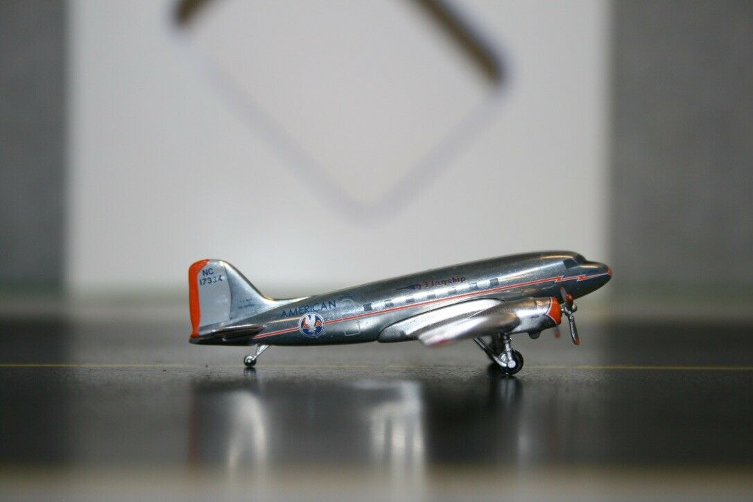 Aeroclassics 1 400 American Airlines Douglas DC-3 NC17334 (ACNC17334)