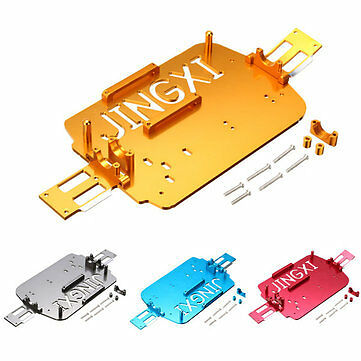 WLtoys Upgrade Metal Chassis Car Bottom A949 A959-B A969 A979 K929 1//18 RC Car P