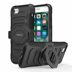 the best attitude 61d5d 64b87 Details about MoKo Shockproof Hard Cover Protective Heavy Duty Case for  Apple iPhone7/8/7p/8p