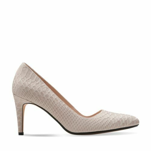 5 Shoe Classic in pelle Sorbet 5 Uk 6 da Clarks Shingle 90 Court Dalhart donna Rrp qxzUn7