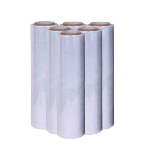 Stretchfolie 6x Palettenfolie Verpackungsfolie WickelFolie 50cm x300m Stärke17my
