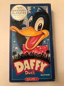 Daffy-Duck-VHS-407-1989-UAV-Cartoon-Classics-Collection-2-Volume-1