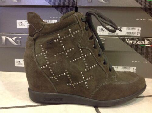 NeroGiardini a411622D Sneakers Donna zeppa interna offerta ultime misure