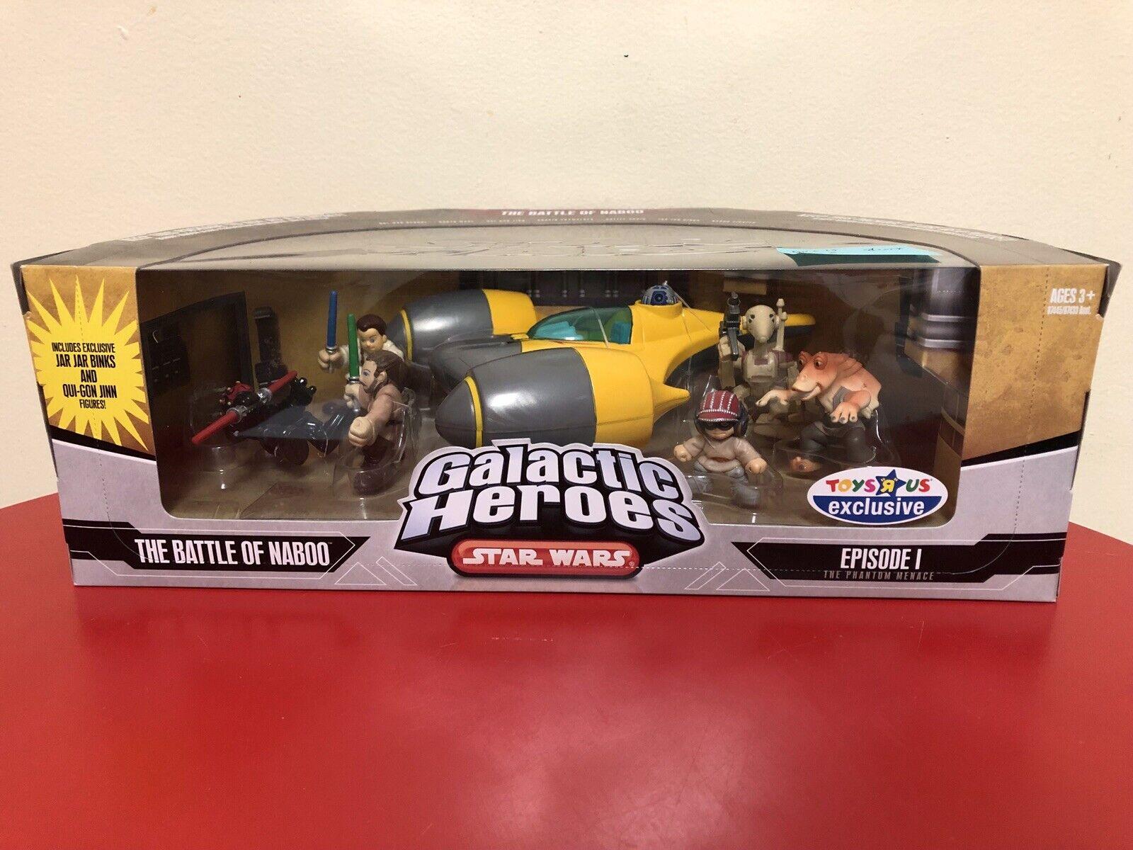 Star Wars Galactic Heroes - THE BATTLE OF NABOO NIB Darth Maul Starfighter