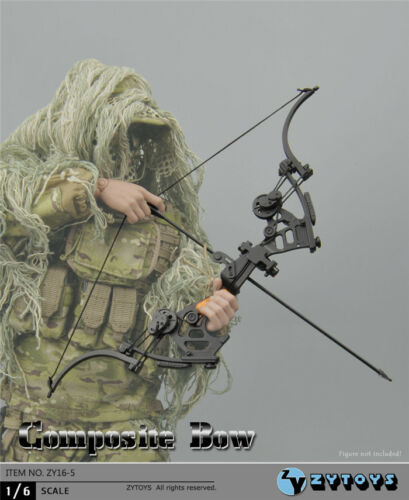 """1//6 Composite Bow Arrows For 12/"""" Figure Soldier Military Weapon ☆SHIP FROM USA☆"""