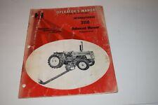 International 3110 Balanced Mower For 454 574 Tractors Operators Manual
