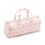 """Hobby Cadeau /""""Chevron perlée rose poudré/"""" Knitting Bag 15 x 45 x 17 cm D//avec H"""