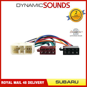 Details about CT20SU01 Car Stereo Radio ISO Wiring Harness Adaptor on