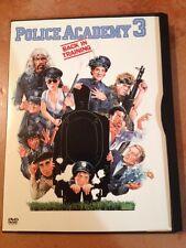 ☀️ Police Academy 3 Back in Training DVD  Steve Guttenberg French Audio MINT R1