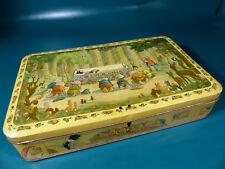 1930's Disney Snow White Blechdose für Bisquit Kekse - Belgium Tin Tinplate