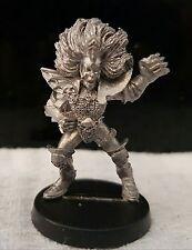 Warhammer Citadel Blood Bowl 3rd edición oscuro Elf Bruja Elfo variante 2 metal fuera de imprenta