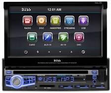"Boss BV9976B 1-Din DVD Receiver w/ Motorized 7"" Touchscreen"