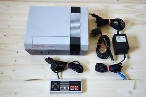 Nes-Nintendo-NES-consola-con-original-Controller-buen-estado
