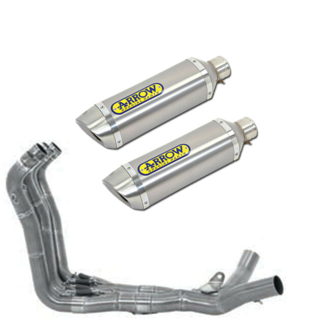 FULL EXHAUST ARROW FOR SUZUKI GSX-R 1000 I.E. 2007 > 2008 THUNDER TITANIUM INOX