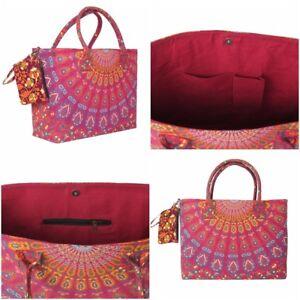 Bag-Tote-Beach-Shopping-Handbag-Shoulder-Women-New-Cotton-Bags-Shopper-Purse