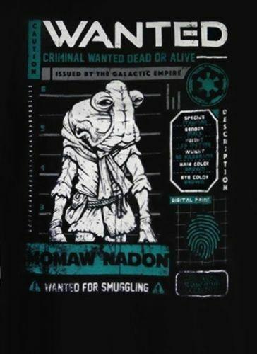 Funko Star Wars Smuggler/'s Bounty Cantina mamaw T-shirt Extra Large XL