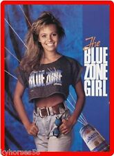 The Blue Zone Girl Refrigerator Toolbox Magnet