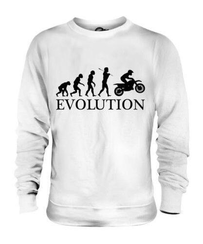 MOTOCROSS EVOLUTION OF MAN UNISEX SWEATER  Herren Damenschuhe LADIES MOTO X CLOTHING