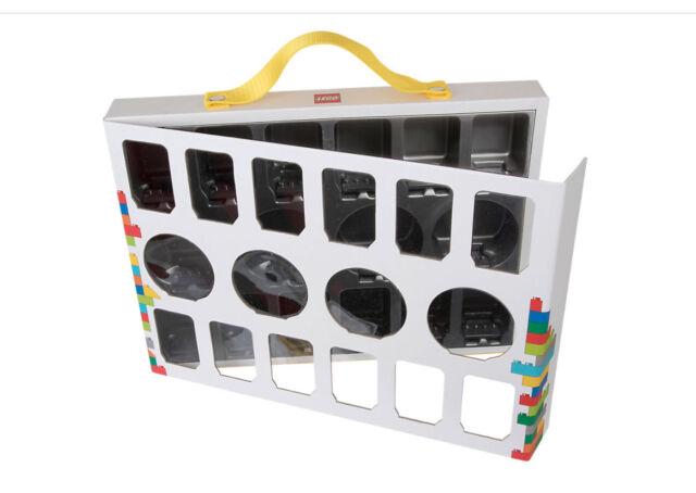 NUOVO COSTRUZIONI LEGO Minifigura collezionisti caso 851399 Set Completo Titolare Scatola Poliziotto Serie