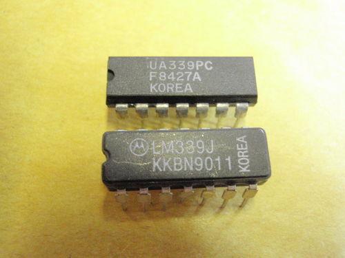 IC BAUSTEIN LM339 = uA339PC    2x             16223-121