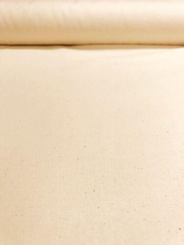 """Preencogido Quilters Calico natural salpicado de Material Tela de Algodón de 62/"""" de ancho"""