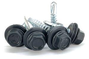 Trapezblech-Schrauben-RAL7016-Bohrschrauben-selbstbohrende-4-8-x-20mm-250-Stueck
