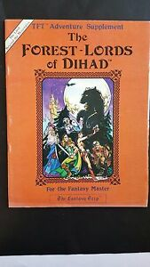 V.rare Metagaming    Gamelords Ltd Cartes Vnc Cover Tft  the Forest-lords Of Dihad