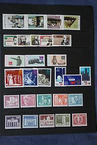 Steckkarte mit DDR - Marken postfrisch - Bernitt, Deutschland - Steckkarte mit DDR - Marken postfrisch - Bernitt, Deutschland