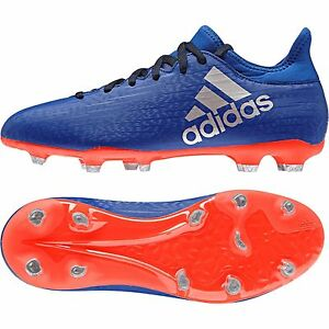 new style 249ce 0e319 Details about Adidas X 16.3 fg kids junior sock football boot tech fit  **Exclusive Colour**