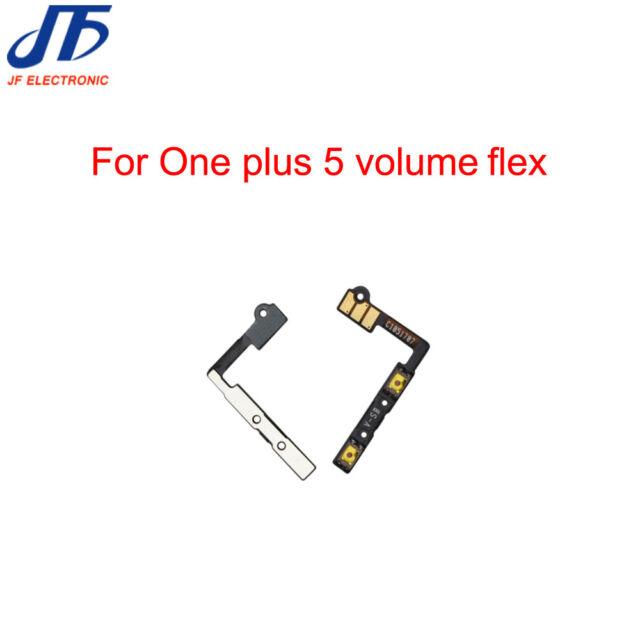 flat tasti volume compatibile per OnePlus 5 flex circuito audio su giù A5000