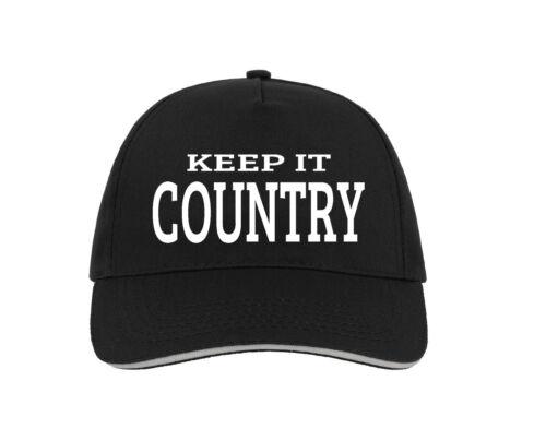Country Music Baseball Hat Cap Gift Present Americana Blue grass Texas