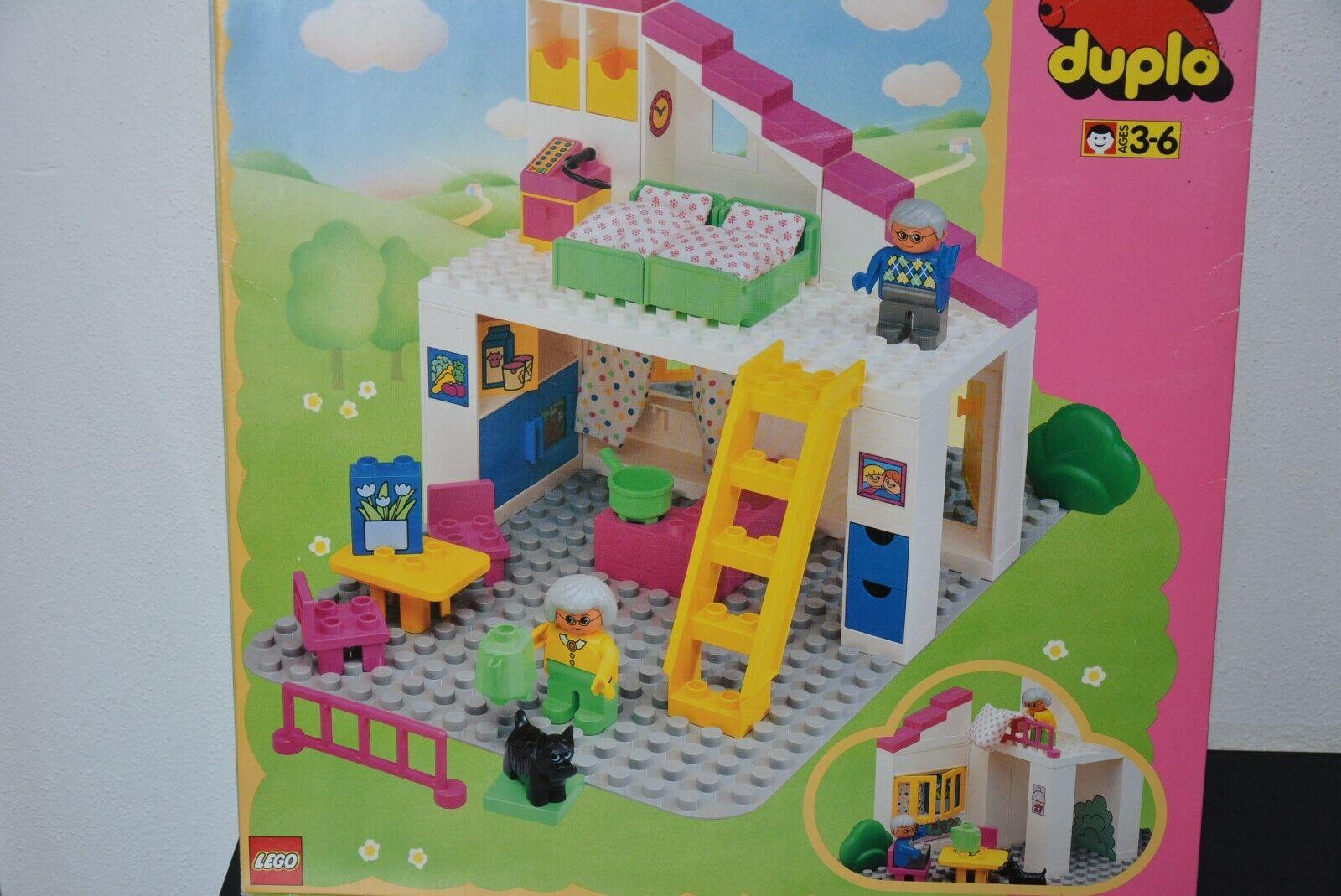 LEGO® DUPLO - 2792 - altes Dollnhaus - vollständig + OVP alles original selten