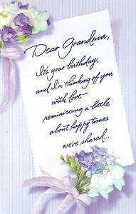 Greeting card birthday dear grandma by carlton cards agc image is loading greeting card birthday 034 dear grandma 034 by m4hsunfo